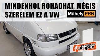 Totalcar MűhelyPRN 72.: Mindenhol rohadhat, mégis szerelem ez a Volkswagen