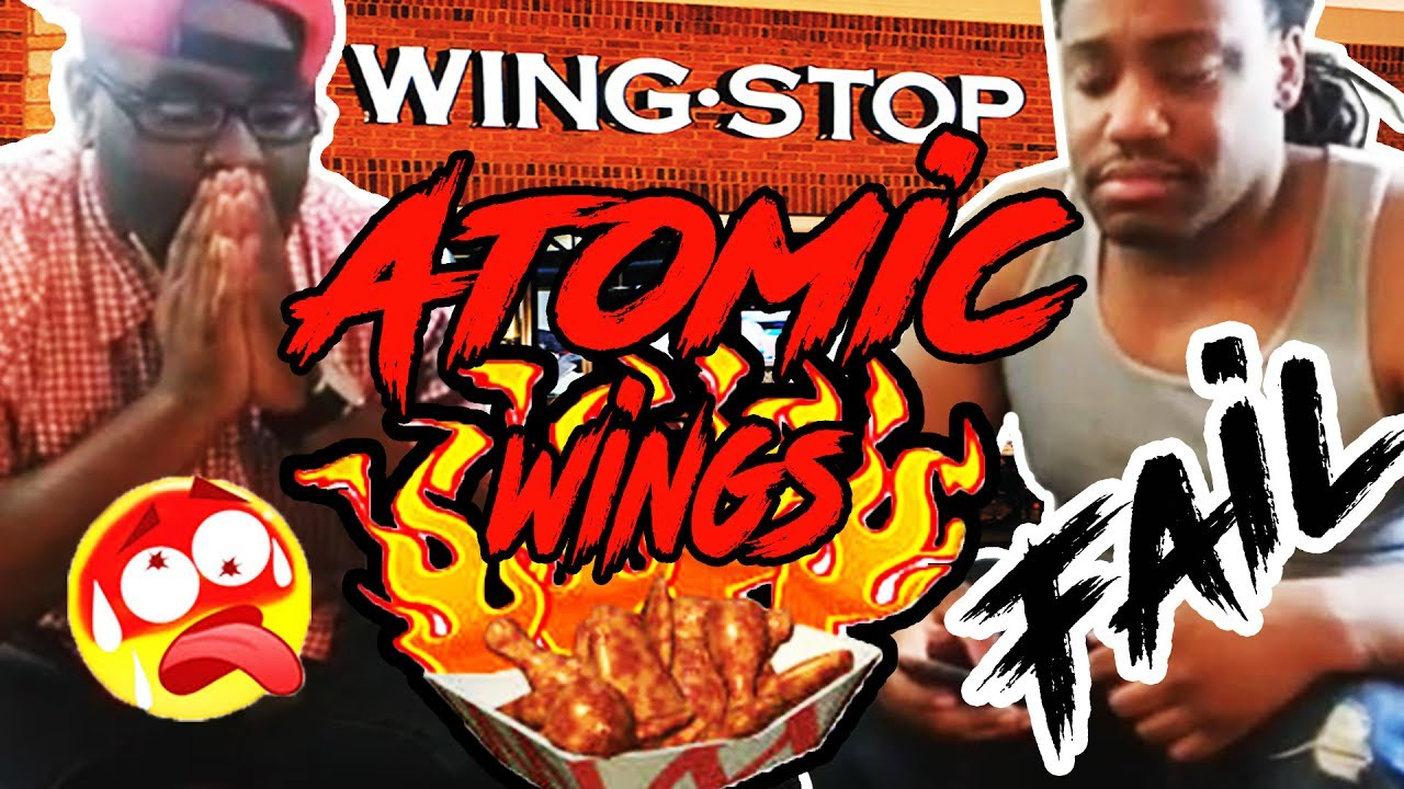 Wingstop S Atomic Wings Challenge Epic Fail Reese