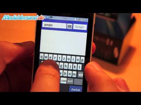 Samsung Wave 723 Einblick Handy Telefon Mobile