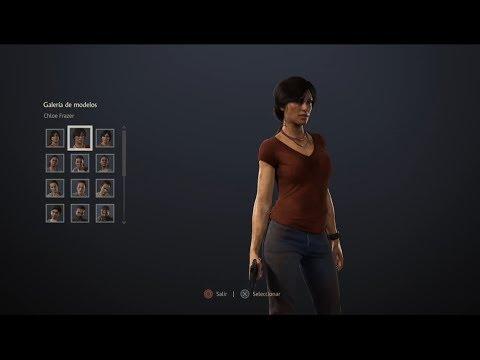 Uncharted: El Legado Perdido - Galería de modelos