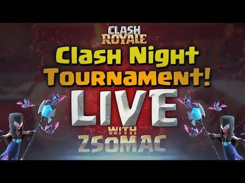 Clash Night Tournament az InGame-ben! | Clash Royale Magyarul
