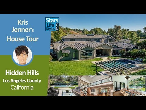 Kris Jenner's Hidden Hills House Tour | Los Angeles County, California | $9.9 Million