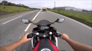Rodolfinho da Z- Testando Yamaha YZF-R3