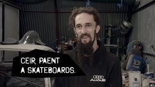 Ceir, Paent a Skateboards - Rish Griffith.