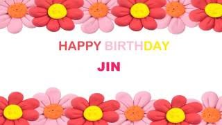 Jin   Birthday Postcards & Postales - Happy Birthday