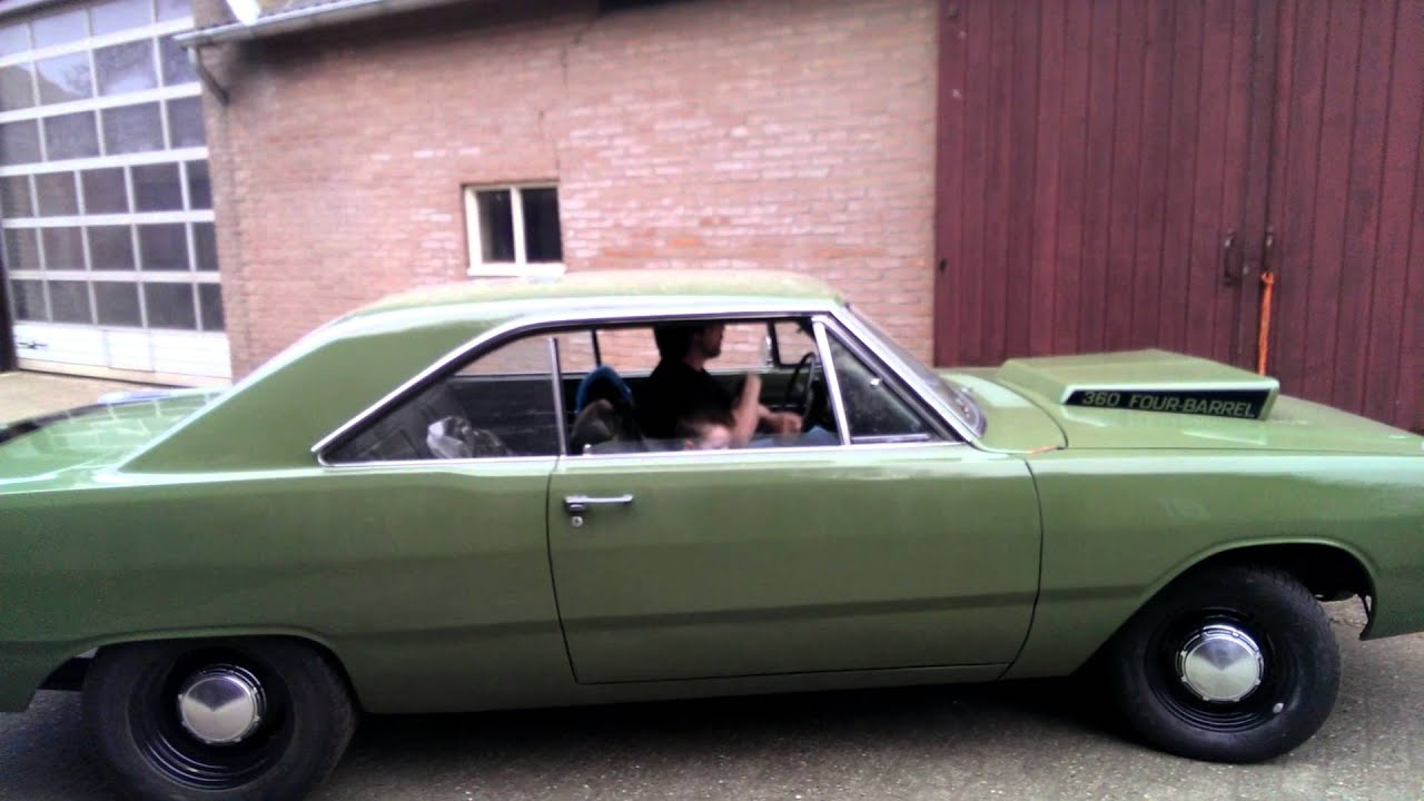 72 Dodge Dart 360 Four Barrel - YouTube