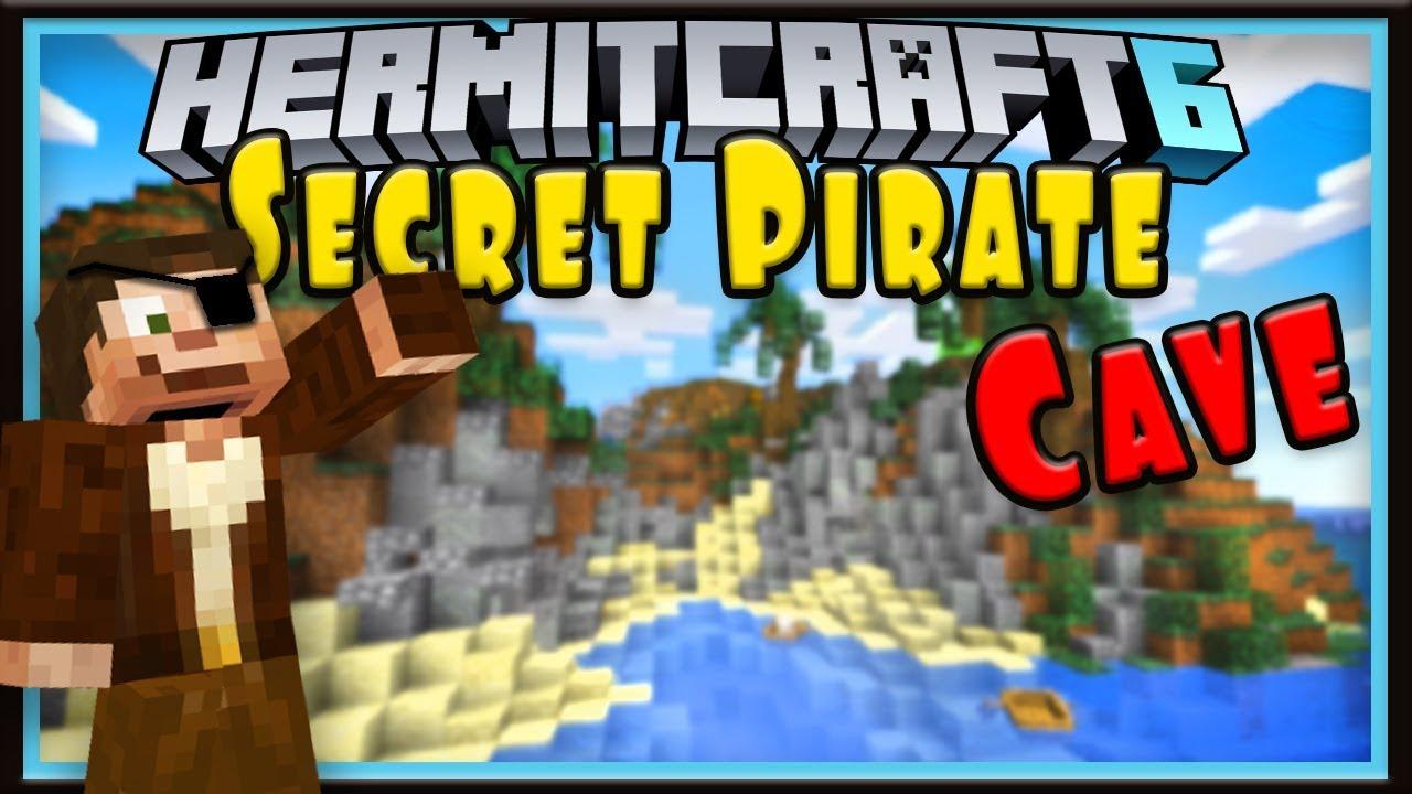 Hermitcraft Season 6: Secret Pirate Cave Base! (Minecraft 1 13 survival  let's play Ep 1)