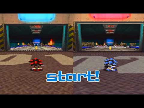 Shadow The Hedgehog Gamplay HD: Shadow vs Sonic !!