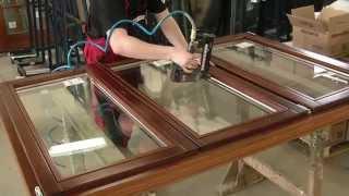 PKS okna - výroba dřevěného okna