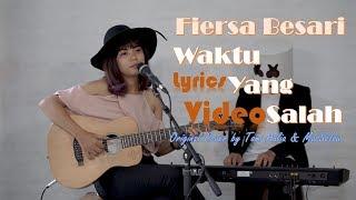 Gambar cover Waktu Yang Salah - Fiersa Besari (Cover by Tami Aulia & MasSelow) Lyrics Video
