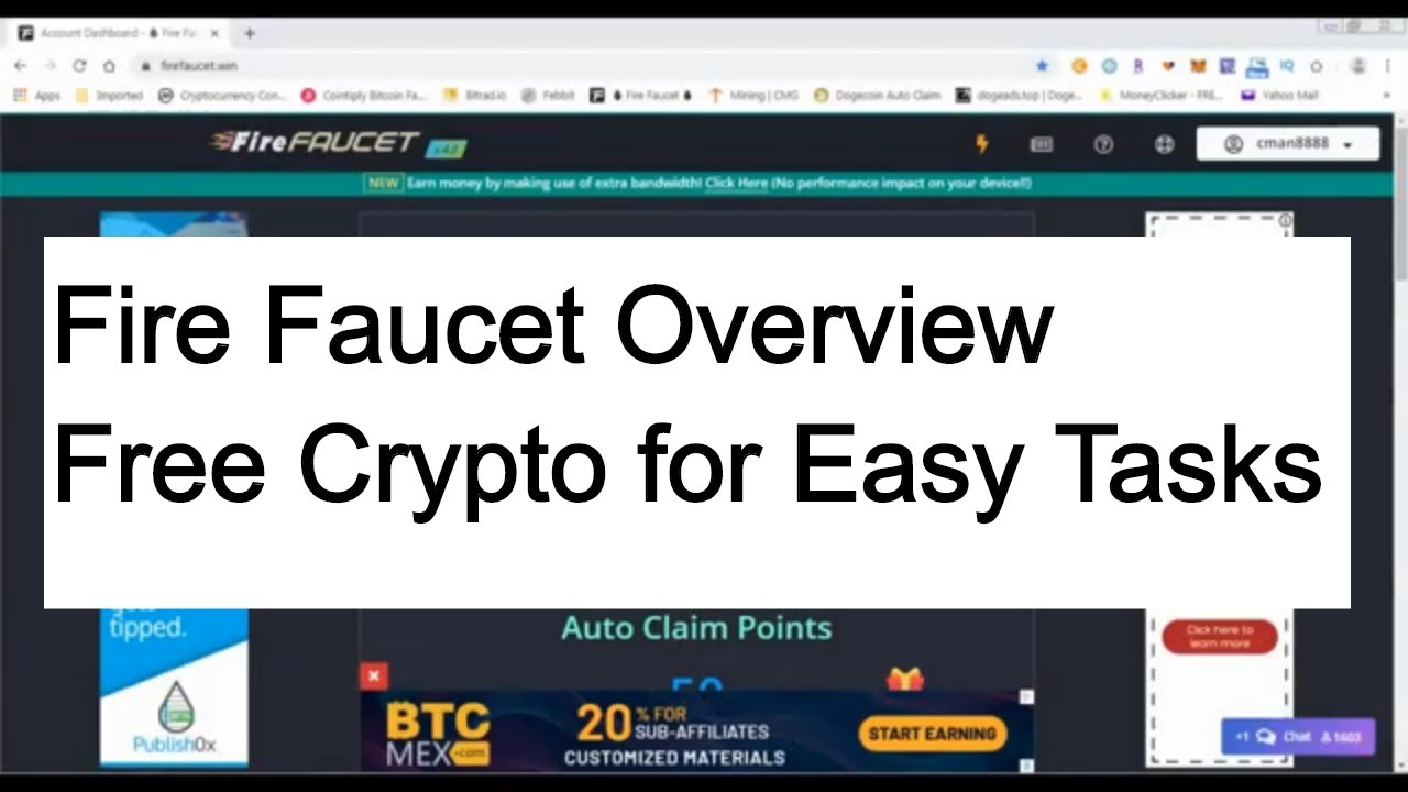 Crypto: Fire Faucet Overview - Auto Claim Faucet for Cryptocurrencies