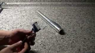 Как заточить бритву жилет или любой другой станок