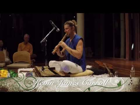 Shakuhachi flute meditation by Kevin James Carroll at Kamalaya Koh Samui Thailand