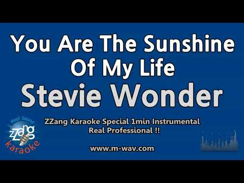 Stevie Wonder-You Are The Sunshine Of My Life (1 Minute Instrumental) [ZZang KARAOKE]