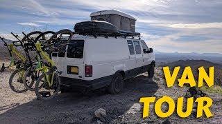 FINAL VAN TOUR: Our E-350 Adventure Van!