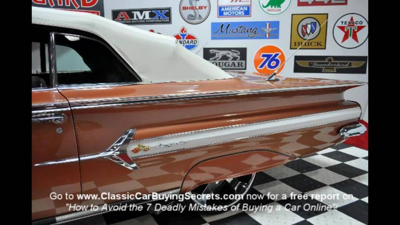 1960 Chevy Impala Convertible Classic Muscle Car For Sale
