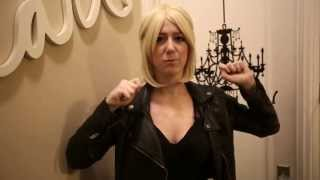 """Epic Cosplay Aura - 16"""" Natural Blonde Wig Review"""