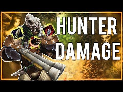 HUNTER DAMAGE - (Beast Mastery Hunter PvP) Warlords of Draenor 6.2