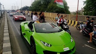 Indore Supercars Independence Day Rally l Fly Rajputs