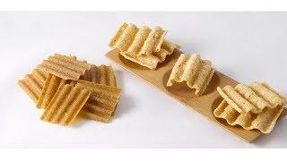 Jinan DG waved chips crispy snack pellet food production line/making equipment