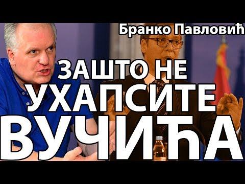 Branko Pavlović: Zašto Vučić nije uhapšen? (Politikon)