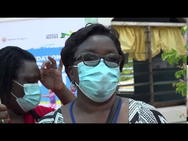 MOH Brings COVID-19 Sensitization To Residents of Bottom Town, Trelawny | News | CVMTV