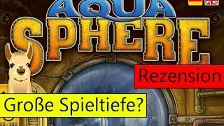 """""""AquaSphere"""" (Spiel): Rezension und Anleitung von SpieLama"""