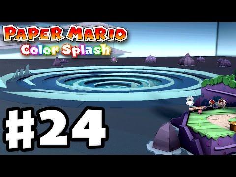 Paper Mario: Color Splash - Gameplay Walkthrough Part 24 - Vortex Island 100%! (Nintendo Wii U)