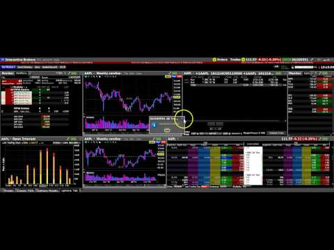 Interactive Brokers. The TWS Options Video.