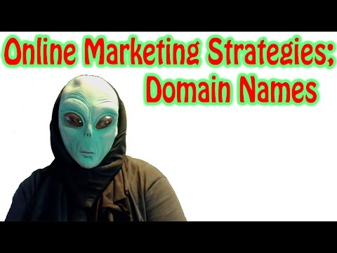 Online Marketing Strategies - Domain Names