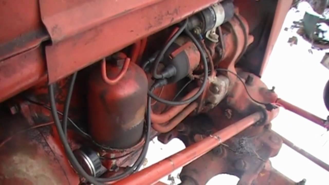 International 300 Utility Tractor Wiring Diagram Farmall A Oil Change Youtube