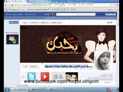 طريقة تغيير شكل الفيس بوك 2013 (Hamasa)