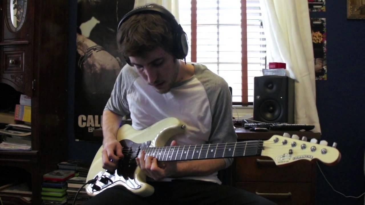 Slow Dancing In A Burning Room Guitar Cover John Mayer