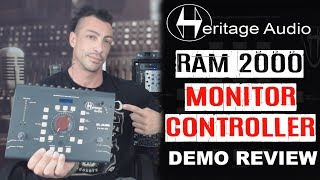 Heritage RAM System 2000 Monitor Controller with Lossless BlueTooth Connection