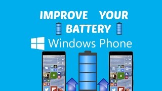 Windows Phone Battery Tips!
