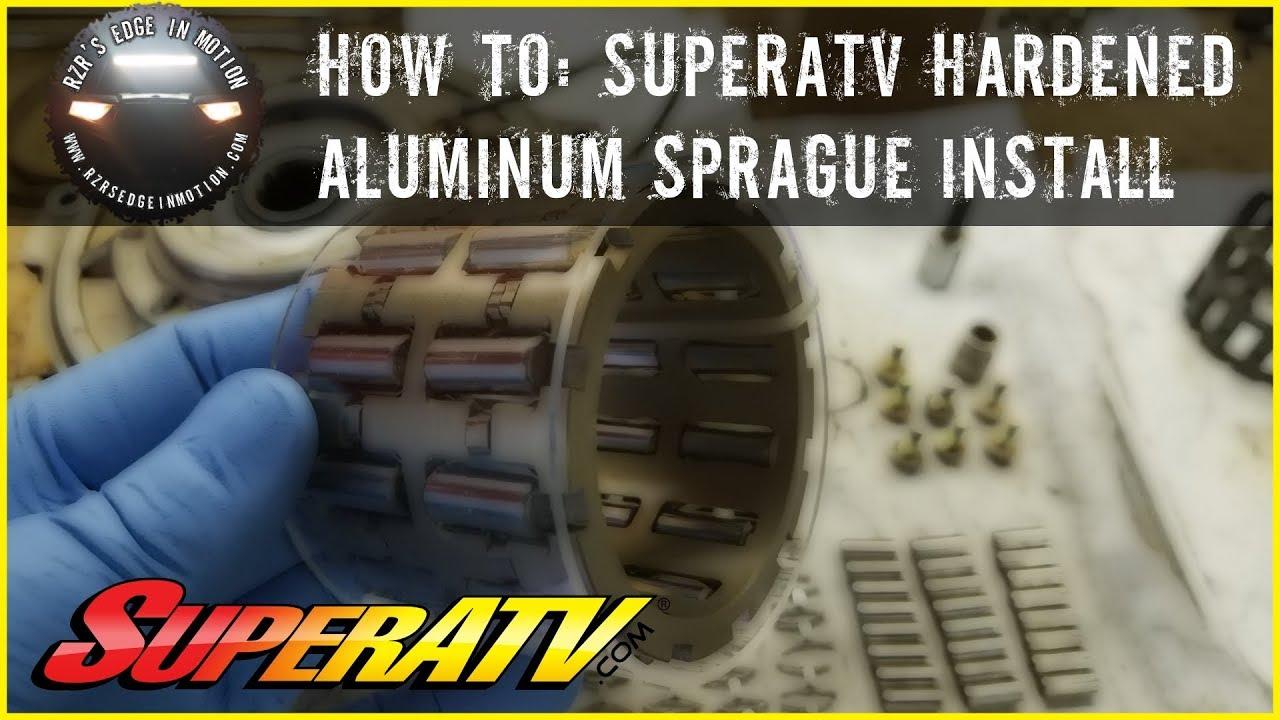4 SuperATV Hardened Aluminum Sprague Carrier for Polaris General 1000