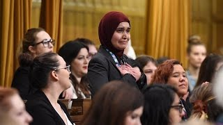 Muslim woman makes impassioned statement in House of Commons|urdu|hindi|english