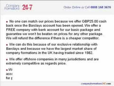 Offshore Company Formations & Registration Services UK