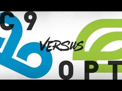 C9 vs. OPT - Week 1 Day 2 | NA LCS Summer Split | Cloud9 vs. OpTic Gaming (2018)