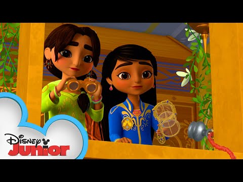 Mystery Through the Front Window | Mira, Royal Detective | @Disney Junior
