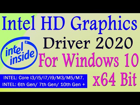 Intel HD Graphics Driver For Windows 10 | NEW UPDATE 2020