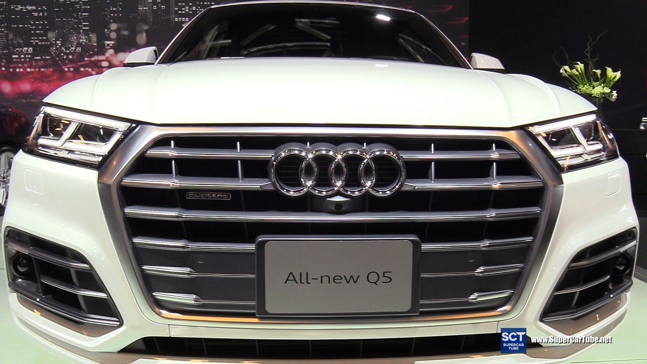 2018 Audi Q5 Quattro Exterior And Interior Walkaround 2017 Montreal Auto Show Youtube