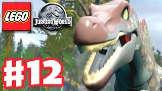 LEGO Jurassic World - Gameplay Walkthrough Part 12 - The Spinosaurus! (PC)