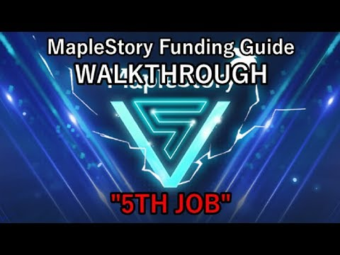 "MapleStory Funding Guide WALKTHROUGH 2018 Episode 12: ""V"""