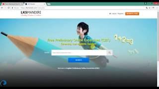 Tutorial Membuat Lembar Kerja Siswa Online (Computer Based Test) - LKS Mandiri