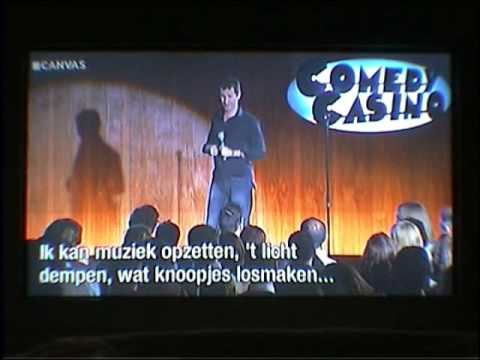 Adam Hills (about his fake leg) @ Comedy Casino (CANVAS / Belgium)