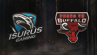 MSI 2019: Fase de Entrada - Dia 2 | Isurus Gaming x Phong Vũ Buffalo (02/05/2019)