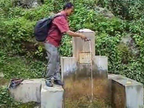 old drinking water source on Musikot kalanga mountains