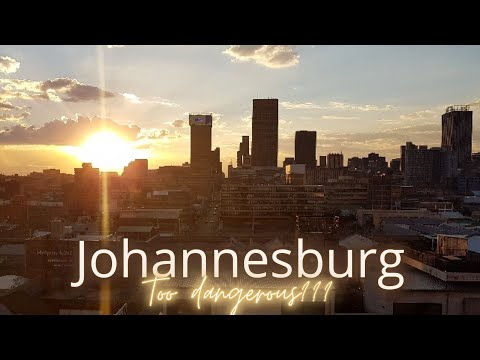 """Johannesburg Highlights - Too dangerous and not """"beautiful"""" enough for a visit???"""