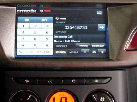 Luxury Car Vision >> Citroen C3 Multimedia System - YouTube
